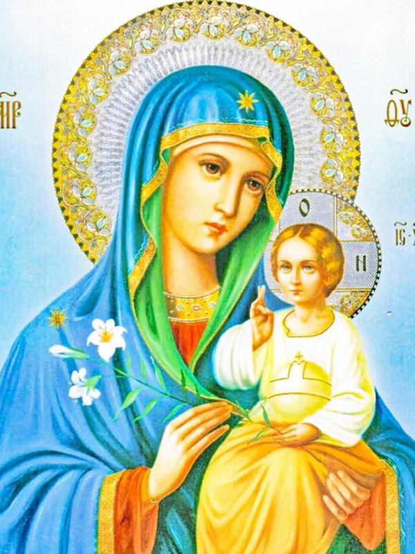 иконе Божией Матери «Неувядаемый Цвет»
