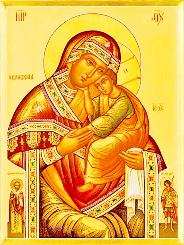 иконе Божией Матери Челнской (Чолнской)