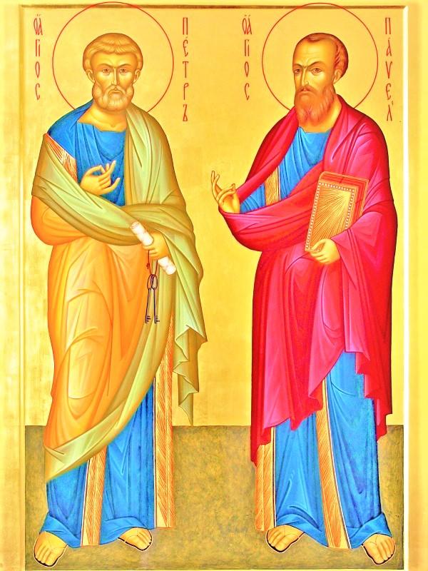Два пути. Стихи первоверховным апостолам Петру и Павлу | Александр Петрович Ерёмин
