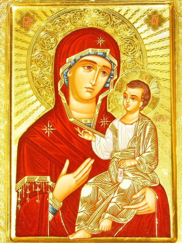 иконе Божией Матери Мятинской
