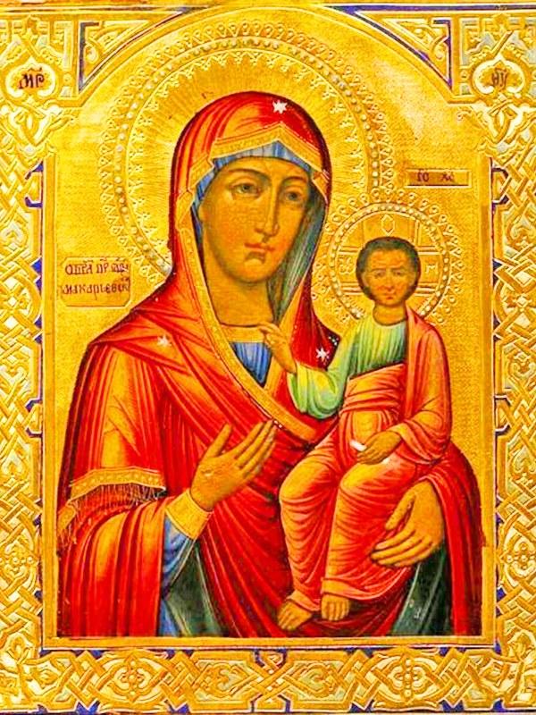 иконе Божией Матери Макарьевской