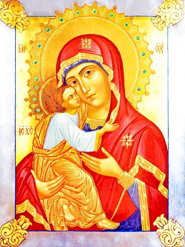 иконе Божией Матери Умиление Псково-Печёрской
