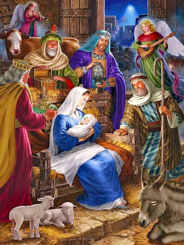 Тайна любви. Стихи Рождеству Христову | Александр Петрович Ерёмин